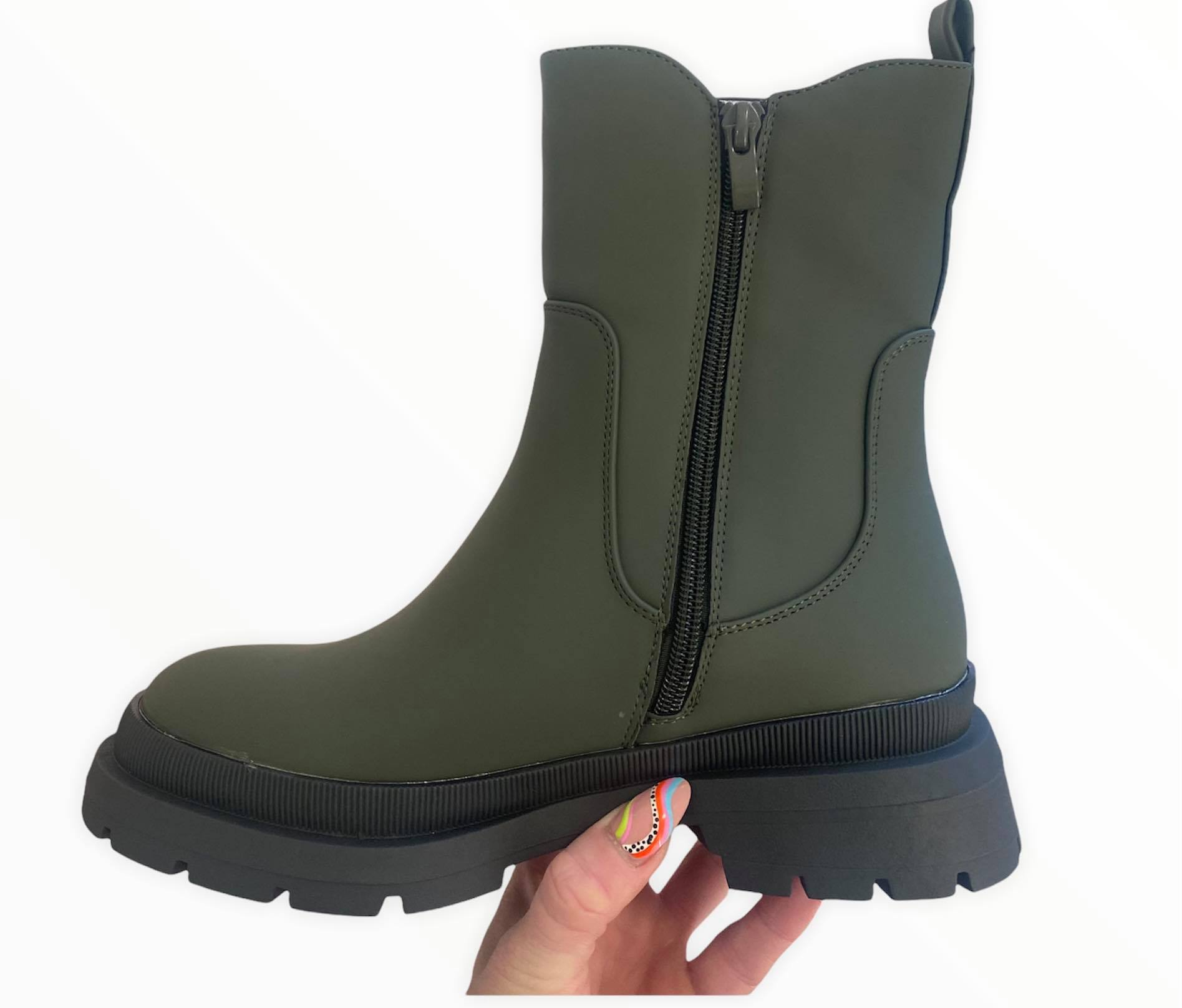 Army Green Boot1